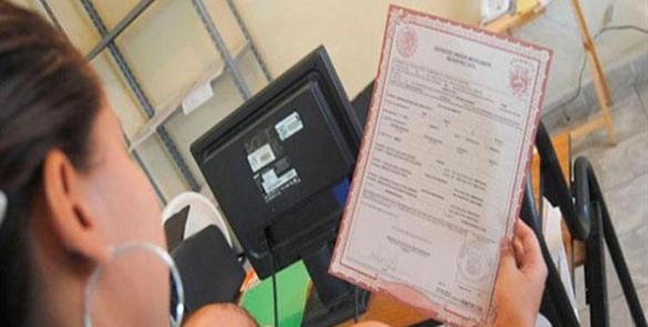 Actas de nacimiento certificadas
